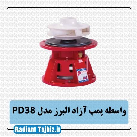 واسطه پمپ آزاد البرز PD38